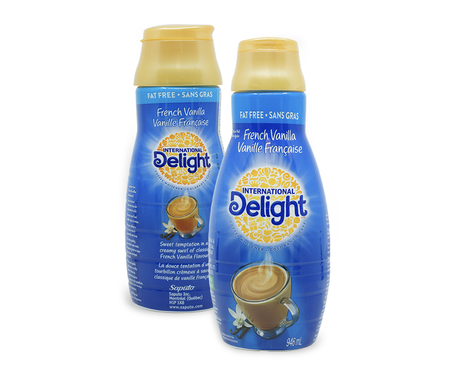International Delight in Shrink Sleeves
