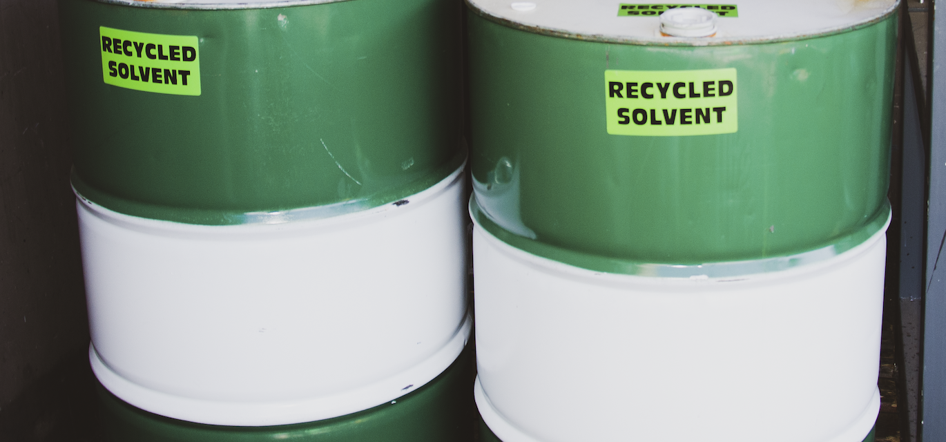 recycled solvent